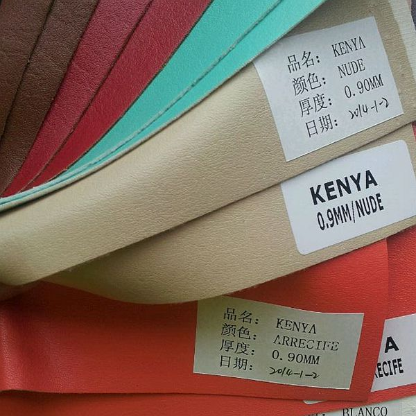 PU KENYA leather material to make sandals o for summer shoes for Maxico (Cuero sintetico para Mexico)