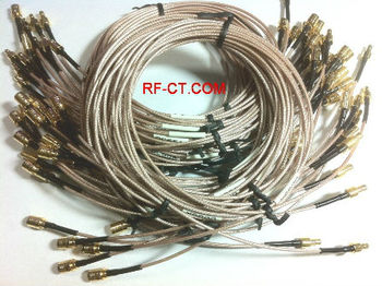 RG cable assembly - MW coaxial type