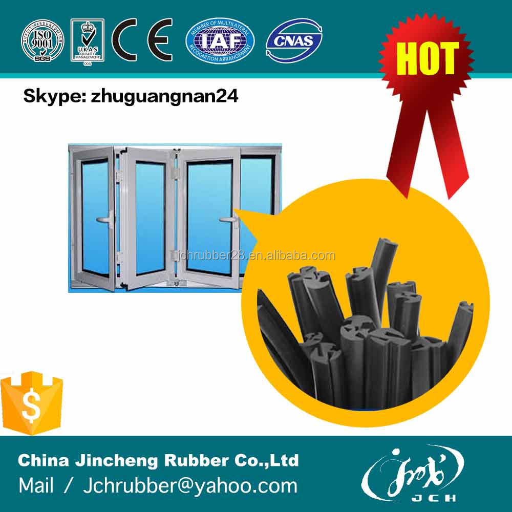 airtight aluminum glass window rubber seal strip