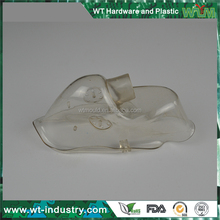 Shenzhen Transparent Oxygen Mask Plastic Injection Moulded Part Maker