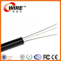 Manufacturer 1 core single mode steel wire fiber optic telecom aerial cables for radio transmission