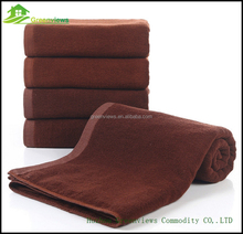 Luxury Hotel & Spa Towel 100% Cotton Coffee Terry Bath Towel Manufacture in China