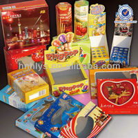 Various Custom Printed Food Packaging Box