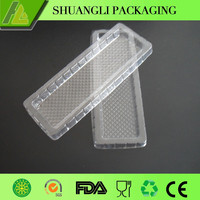 Clear or white plastic biscuit/snack food insert packaging tray