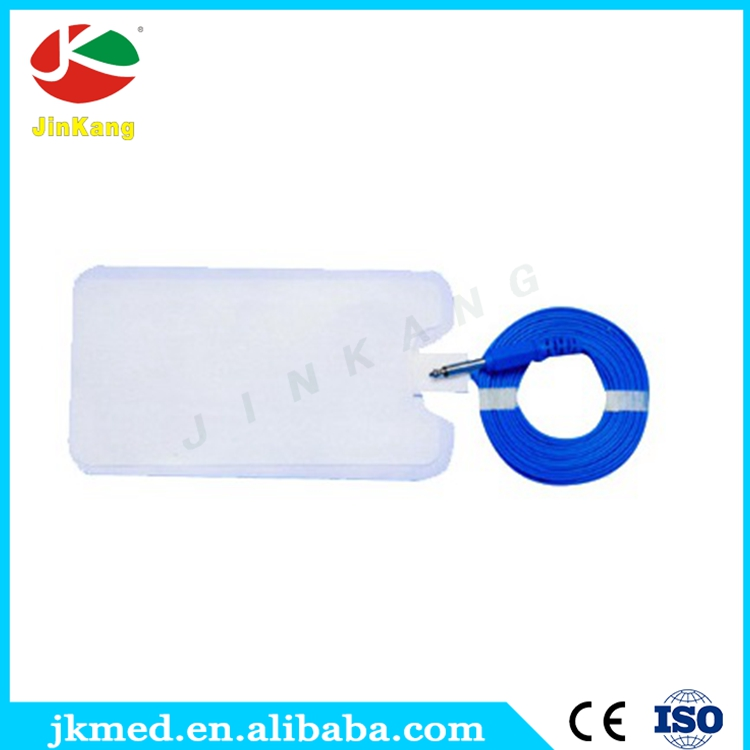 Disposable patient plate for sugical/medical use ESU patient plate