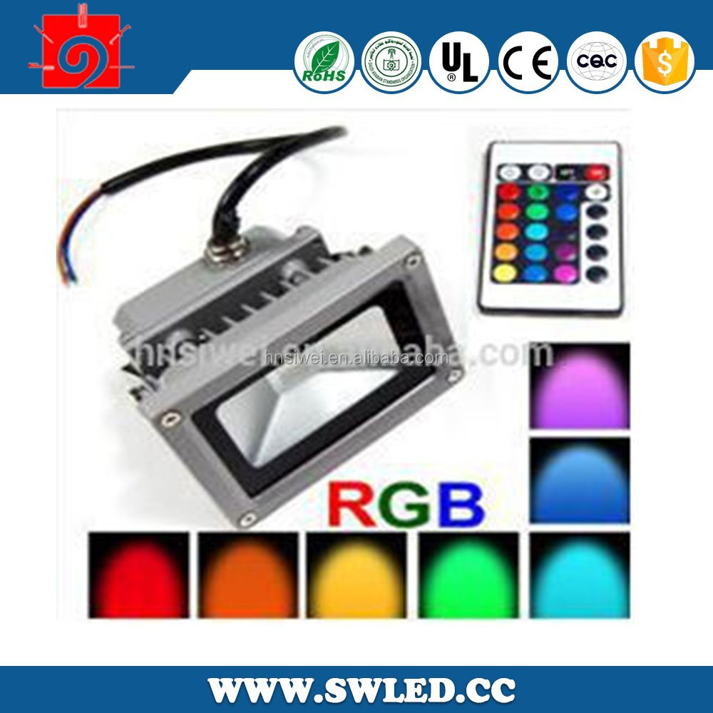outdoor led flood light color changing RGB low voltage 10W led flood lights for outdoor light