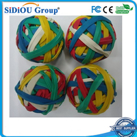 kids high bouncing rubber band ball