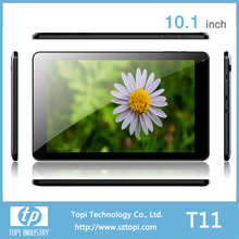 10.1 inch 1280*800 IPS screen tablet pc 10 inch 6000mah battery front camera 0.3