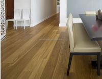Made of 100% natural real wood Oak unfinished hardwood flooring