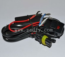 Moto High Quality HID Xenon H6 High Low Wire Relay Wire Harness Relays harness Xenon HID(HID lights /HID Lamps / HID Lights)