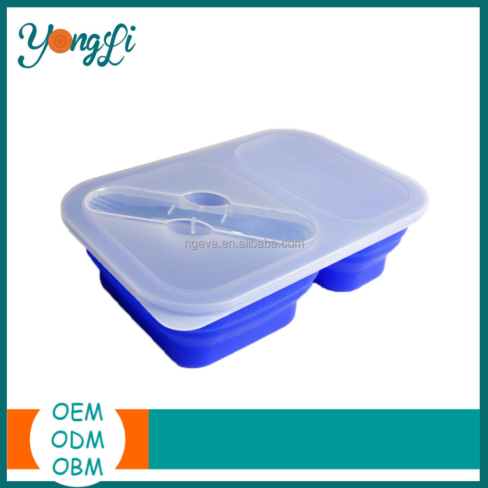 Waterproof Collapsible Insulated Container To Keep Food Hot