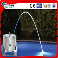 Beam wave led light jumping jet fountains