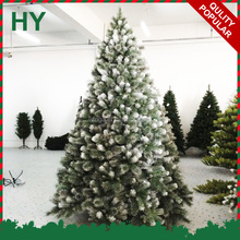 Environmental silver tip christmas tree