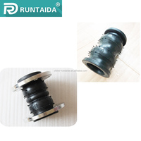 High pressure double sphere flanged rubber expansion joints