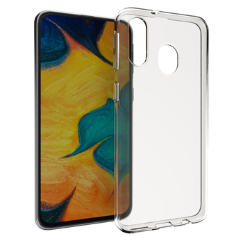 Transparent ultra clear tpu case for Samsung Galaxy A40 soft back cover