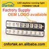 Universal drl lights New Arrived 8*2 LED car light E-mark Car Daytime Running Light/Emark FK-008H2