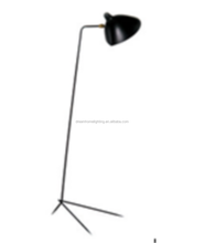 Modern Designer for Serge Mouille Floor Lamp Black Lambader For Living Bedroom Room Floor Light Lampara de piso Creative