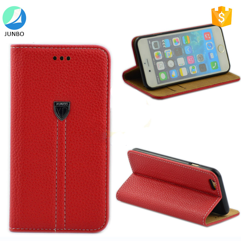 2017 trending products Luxury Wallet Stand Cover Leather Flip Case for iphone 7