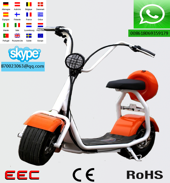 2017 new citycoco electric bike/electric scooter/citycoco pocket