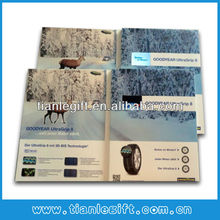 2.4inch lcd video greeting invitation cards