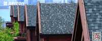 fiberglass double layer asphalt roof shingles sale