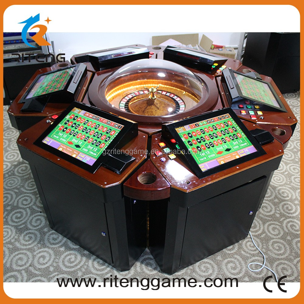 12 months Warranty casino roulette table machine electronic roulette machines