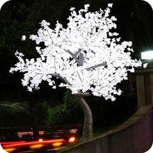 2016 Manufacturer led outdoor lighted maple tree for party