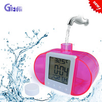 Eco-friendly Water Power Table Clock
