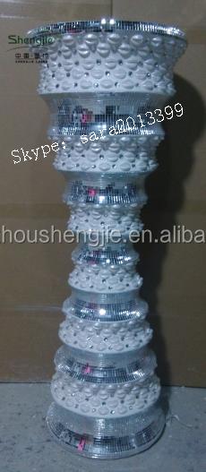 Crystal flower vase,flower planter, flower pot