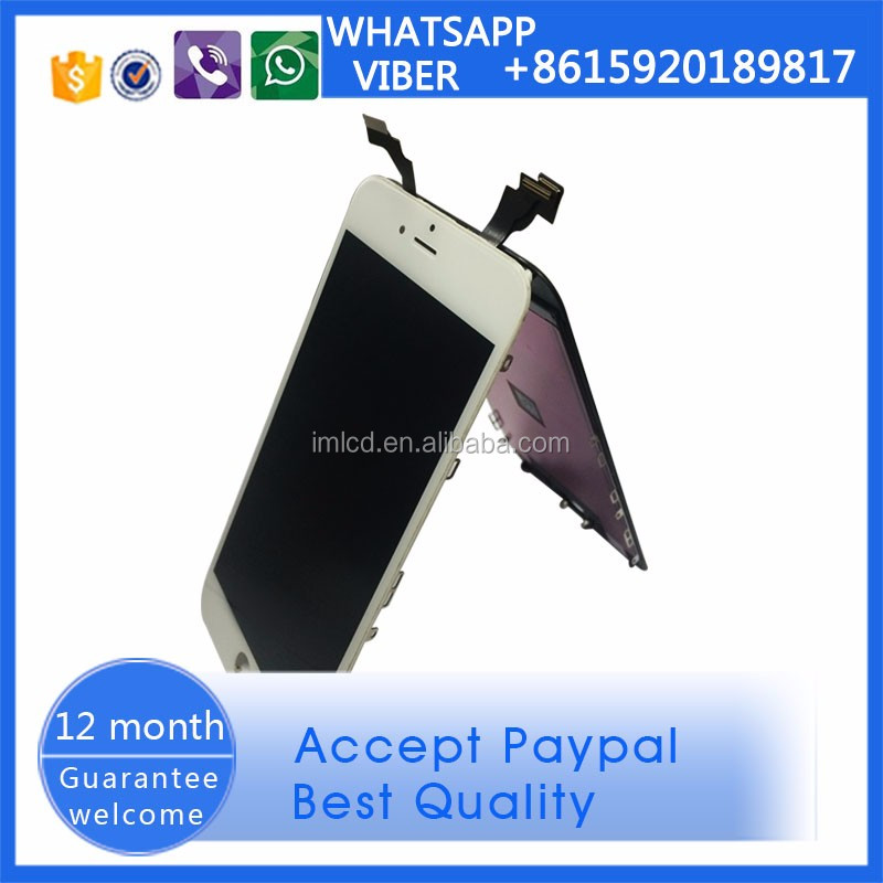 top quality for iPhone 6 plus lcd with digitizer in alibaba with 12 month warranty