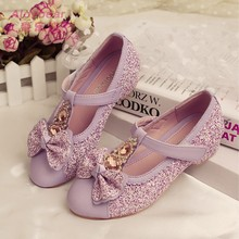 Spring new design Korean style fashion girls high heels shoes kids casual shoes wholesale children shoes