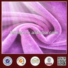 High Quality 60%Poly40%Cotton TC Fall Proof Velvet print Fabric