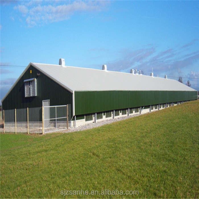 steel farm building chicken house