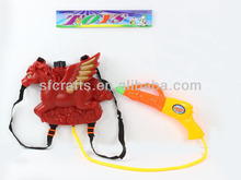 2014 new product plastic knapsack water gun toys summer toys China supplier
