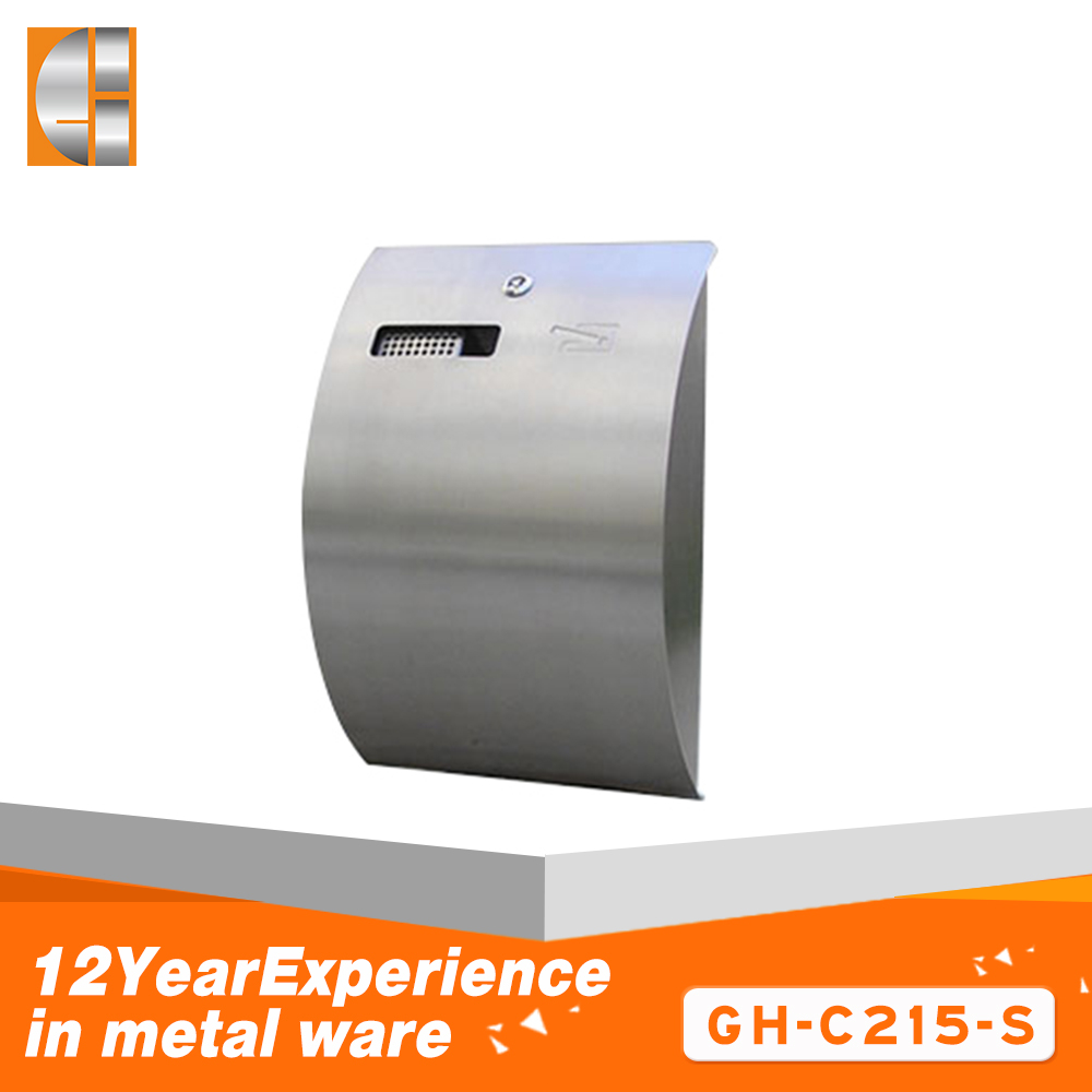 304 Stainless steel rust-proof cigarette ash storage bin
