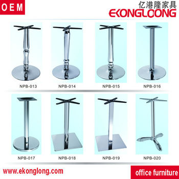 Wrought iron table legs bases tree table base sc 1029 for Wrought iron table legs bases