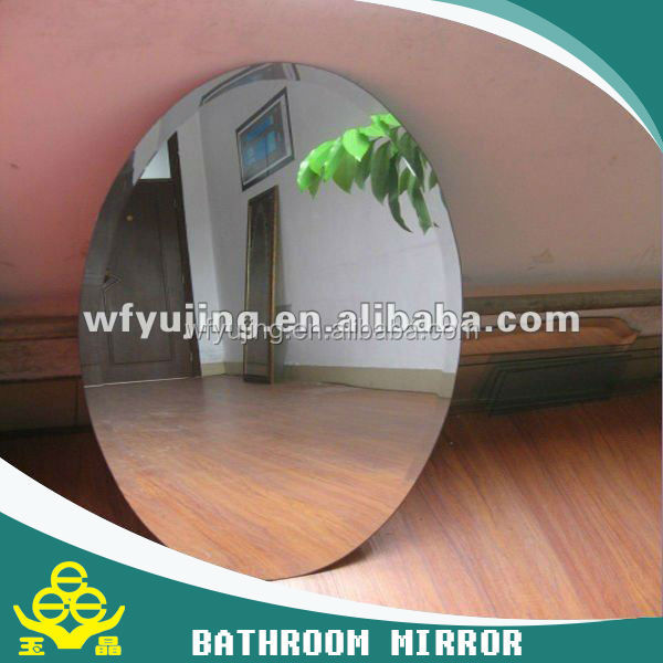 3mm clear float glass bathroom mirror certificate
