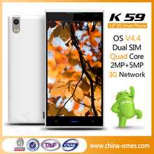 MTK6582 Quad Core 1GB+8GB 3G GPS Dual Sim android mobilephone