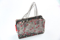 Ladies Luxury Flower Printed Plastic Shopping Bags Wholesale
