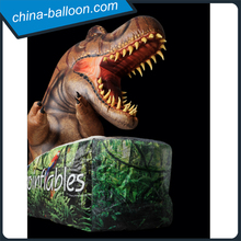 Jurassic World inflatable dinosaur decoration/ inflatable T-rex head with led lighting