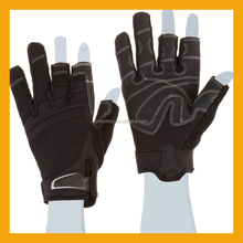 Three Fingerless Cut Resistant Framing Work Glove