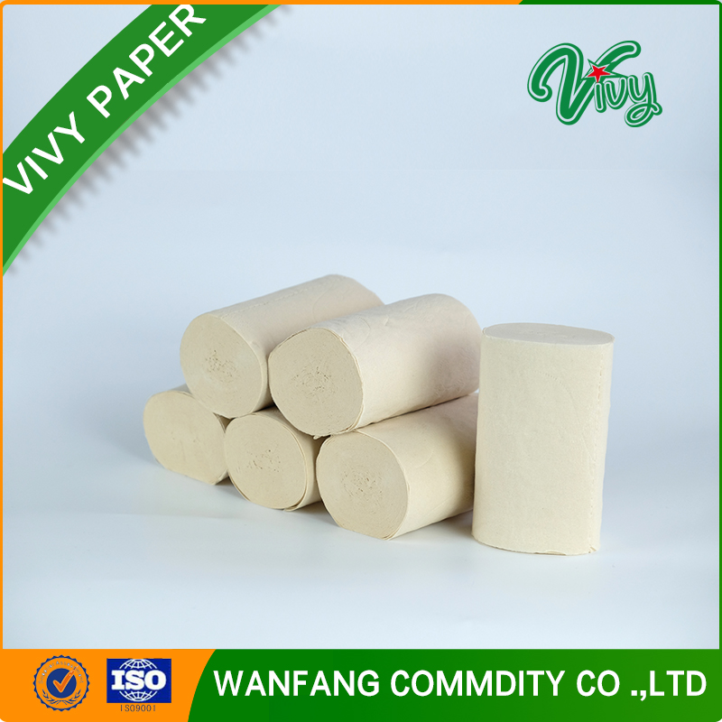 OEM Organic Coreless Toilet Paper Roll