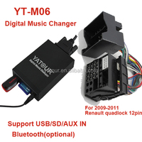 Car mp3 player for Yatour Renault in professional car music changer manufacturer