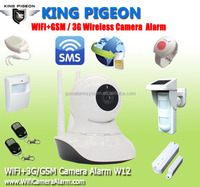 Global unique WIFI Security camera with GSM 3G SIM Card