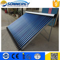 new design 24 heat pipe tubes solar water heater manufacturer