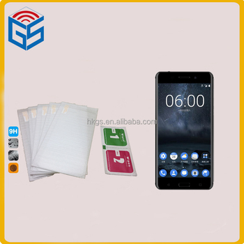 new items 2017 2.5d round edge 0.3mm tempered glass screen protector for nokia 6