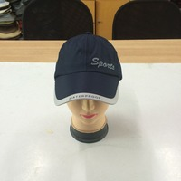 100% polyester flexible moisture wicking breathable lightweight sports cap and hat with emboridery logo