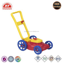 New design 2015 hot sell lawn mower bubbles toys for kids