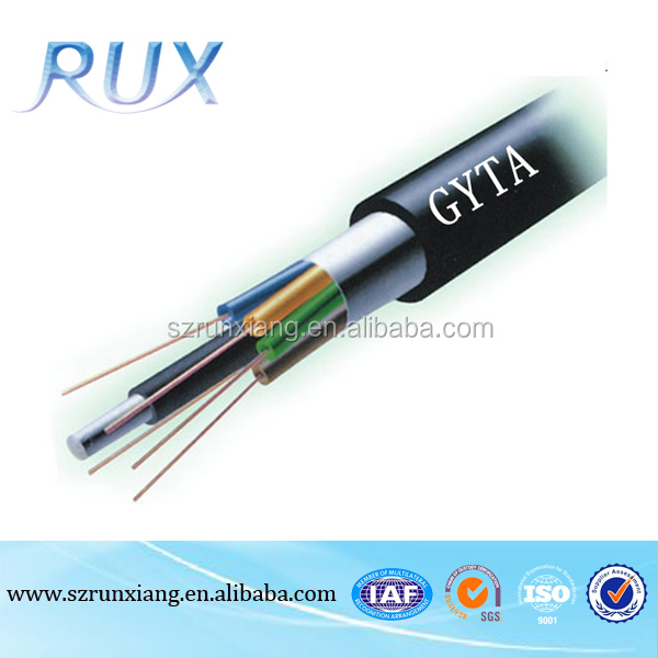 Aerial & Duct 144 Cores Outdoor Fiber Optic Cable Per KM