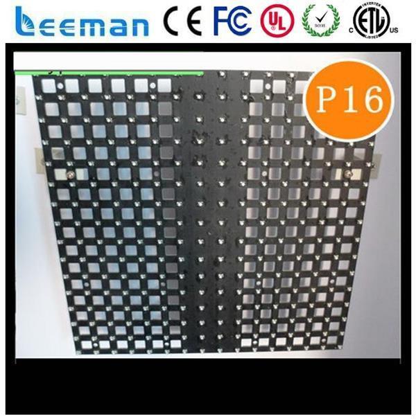 mesh screen p10 led video board led